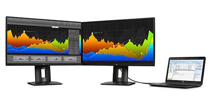 HP Z Narrow Bezel Display Virtually borderless