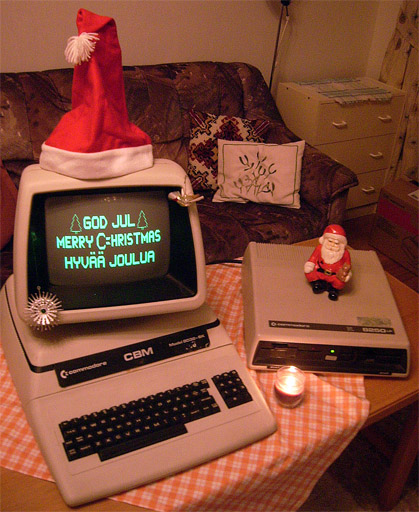 Anybody For Some Vintage Computer Holiday Wishes