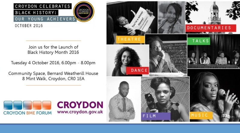 Croydon BME Forum Launches Black History Month 2016