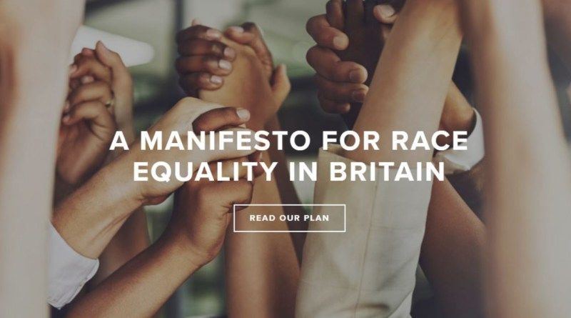 A Manifesto for Race Equality in Britain