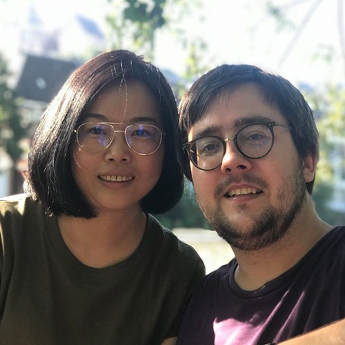 Photo of Xiaodan and Phillip Frohlich
