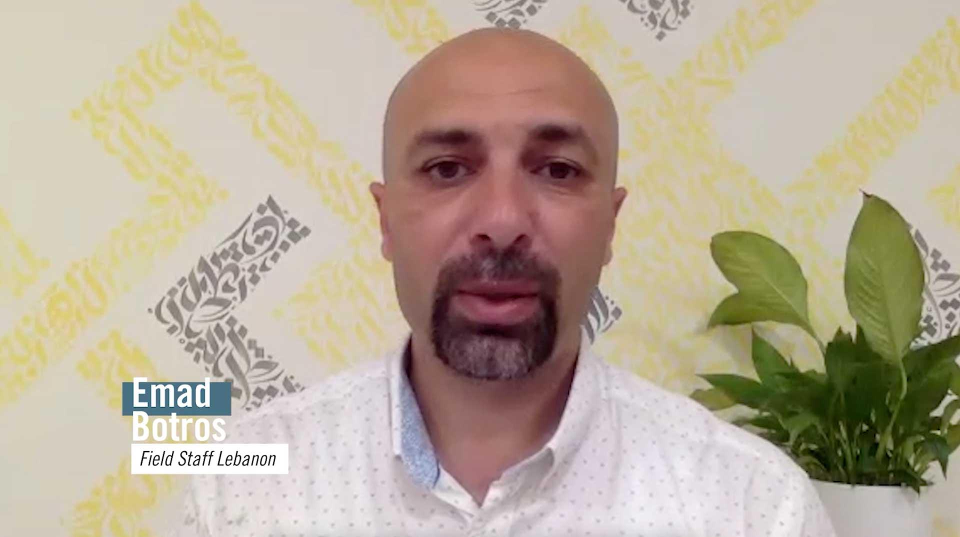 Photo of Emad Botros' Prayerline video