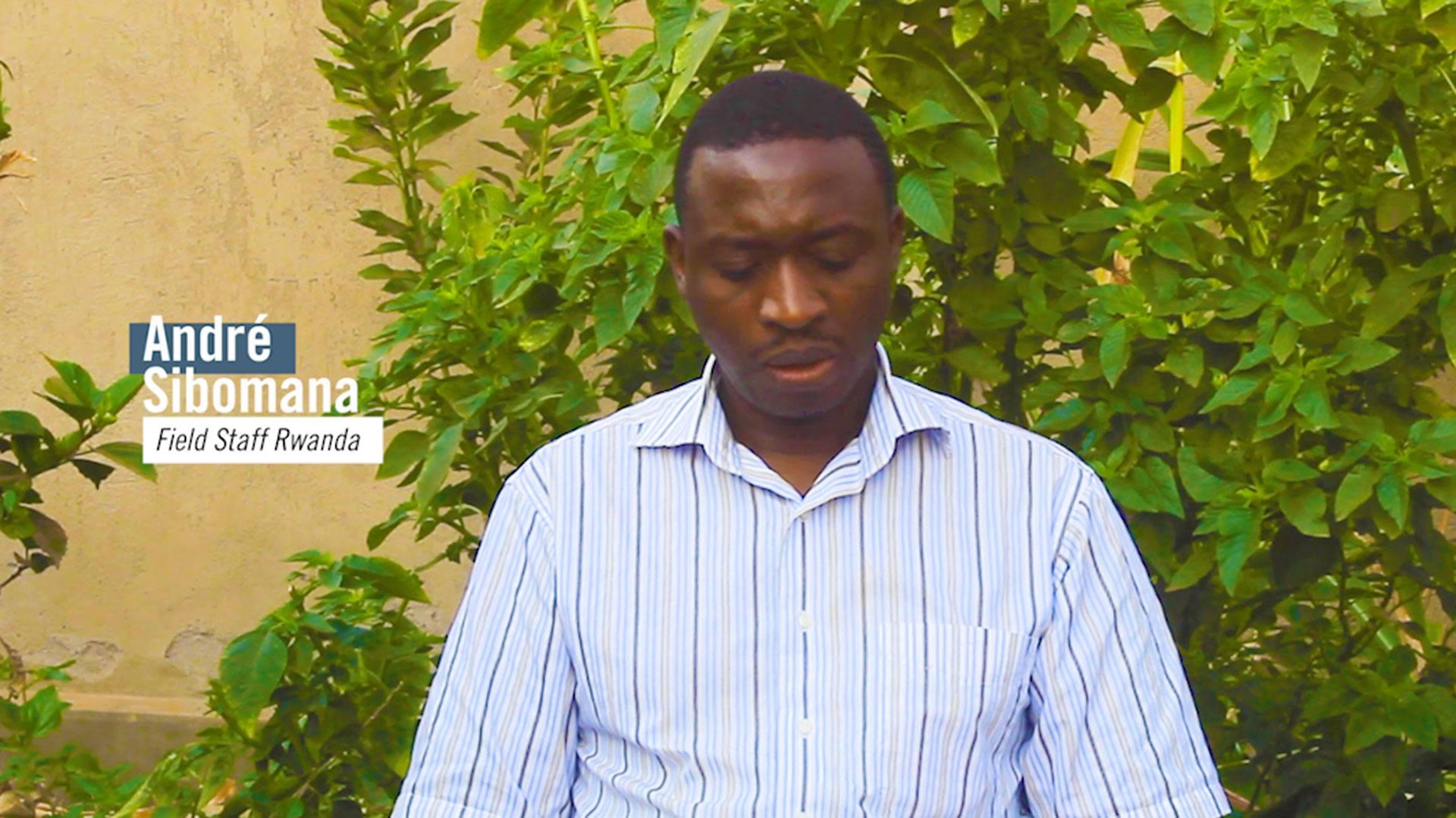 Photo of Andre Sibomana's Prayerline video