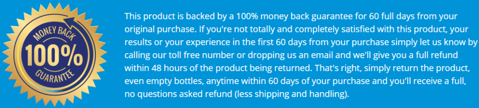 Two Months Full Money-Back Guarantee