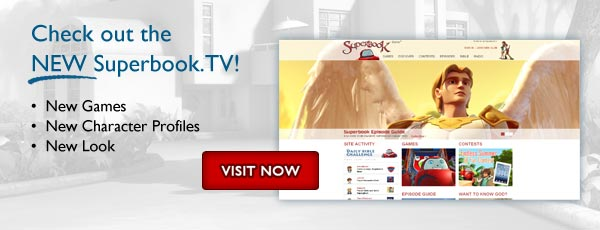 Check out the NEW Superbook.TV!