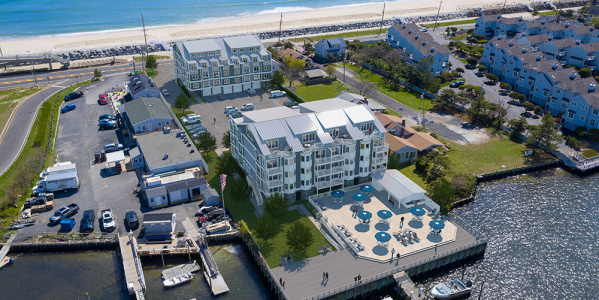 North Pointe Aerial View Rendering