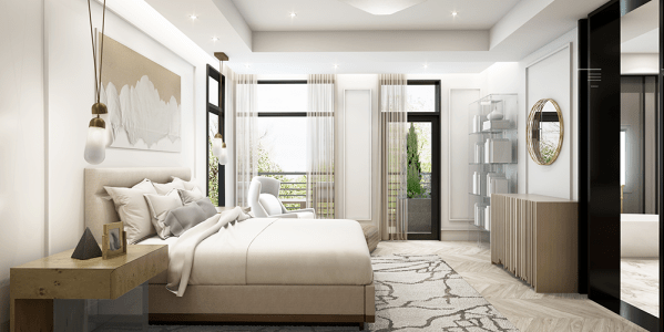 The Modern Interior Rendering