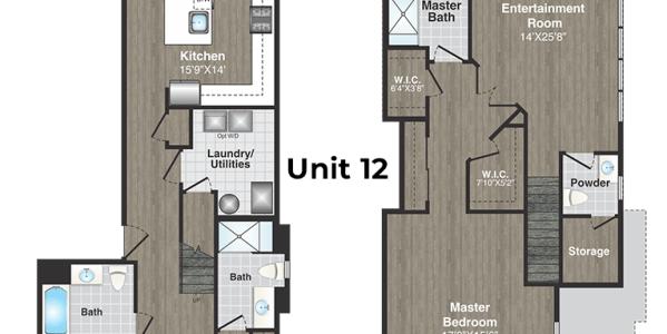 North Pointe Unit Floorplan