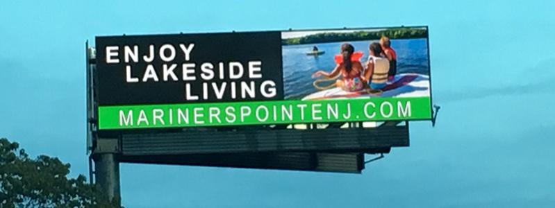 Mariner's Pointe Highway Billboard