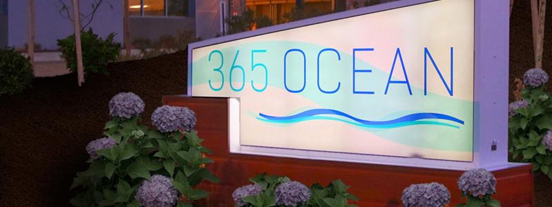 365 Ocean Permanent Entry Monument