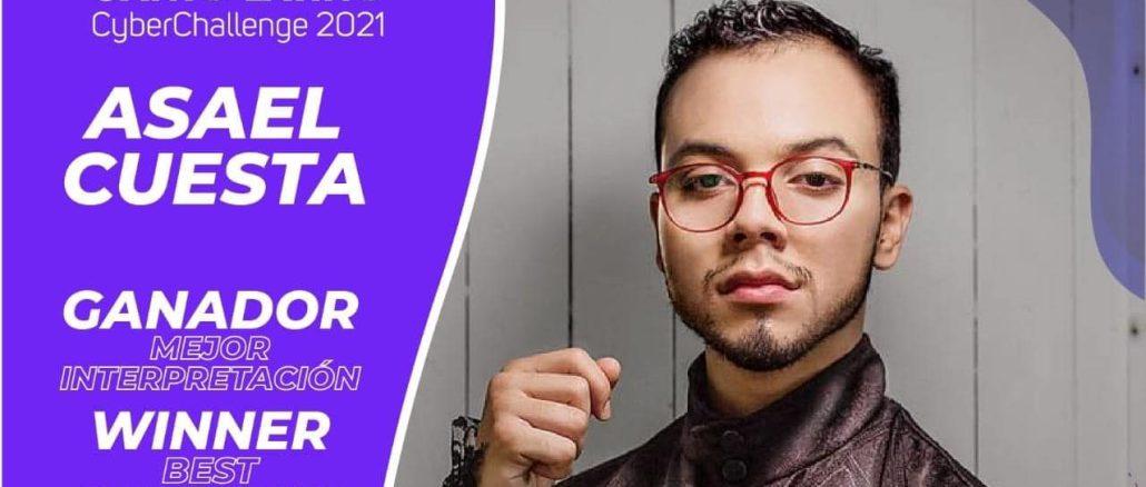 Asael Cuesta conquista en Canto Latino Cyberchallenge 2021