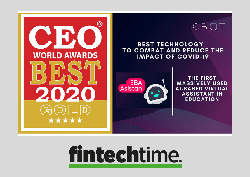 CBOT is the winner of Gold Prix at CEO World Awards
