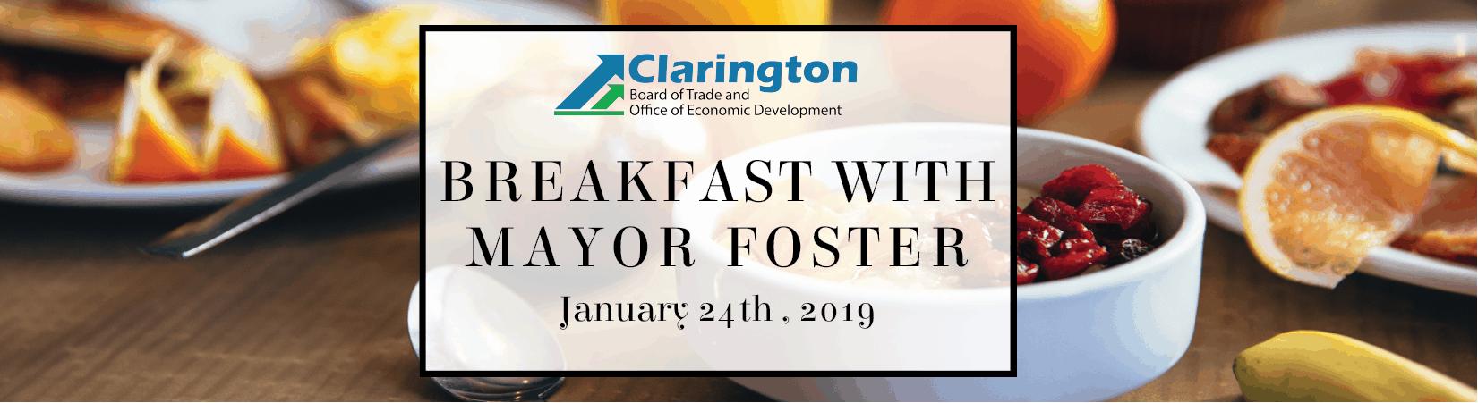 Breakfast with Mayor Foster