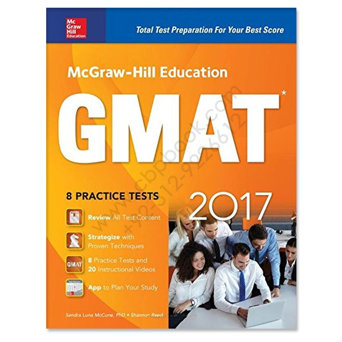Mcgraw Hill Education Gmat With 8 Practice Tests 10th