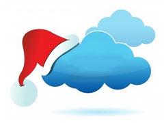 christmas cloud