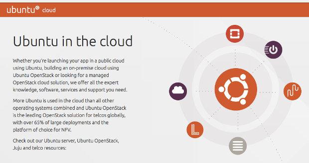Ubuntu Cloud screenshot