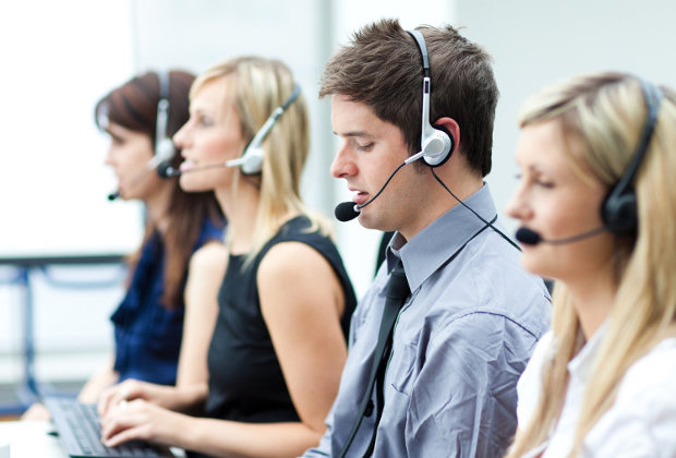 Cloud-based call centre