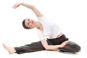 woman-stretching