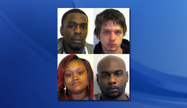 4 arrested on heroin charges in Kinston