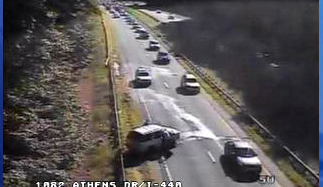 Part of I-440 in Raleigh reopens after crash near Jones