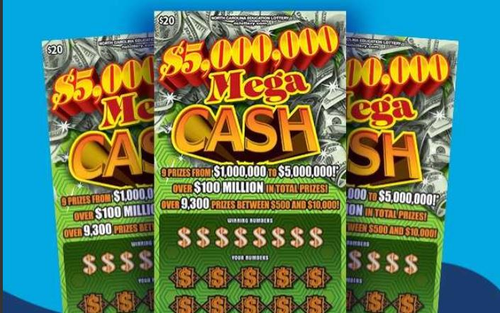 Durham man wins $5 million with lottery scratch-off ticket