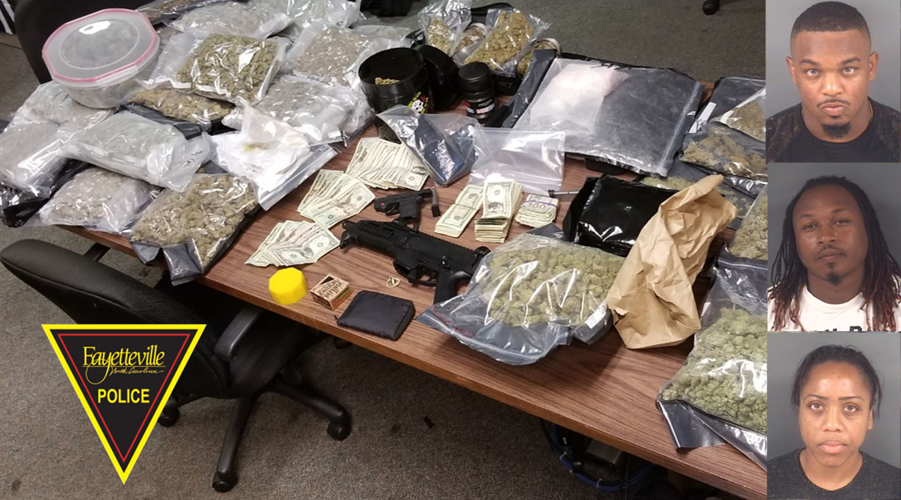 Fayetteville gang unit finds guns, drugs at day care