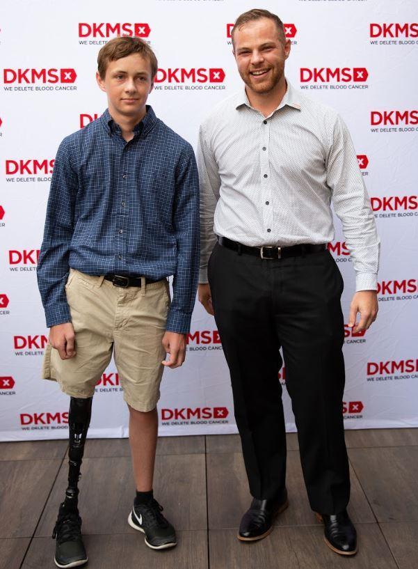 Raleigh teen meets bone marrow donor who 'saved his life'