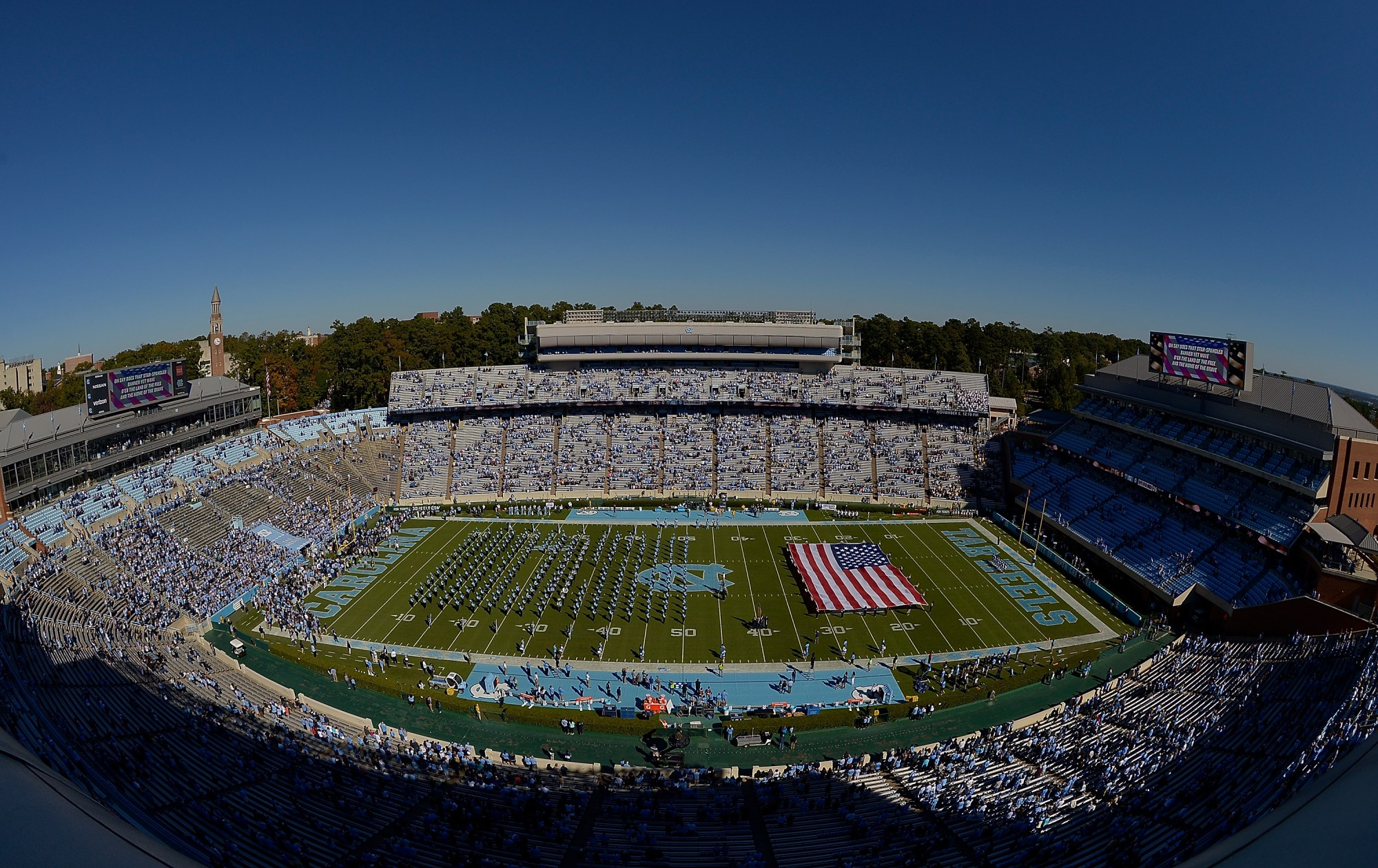 kenan memorial stadium unc football tar heels