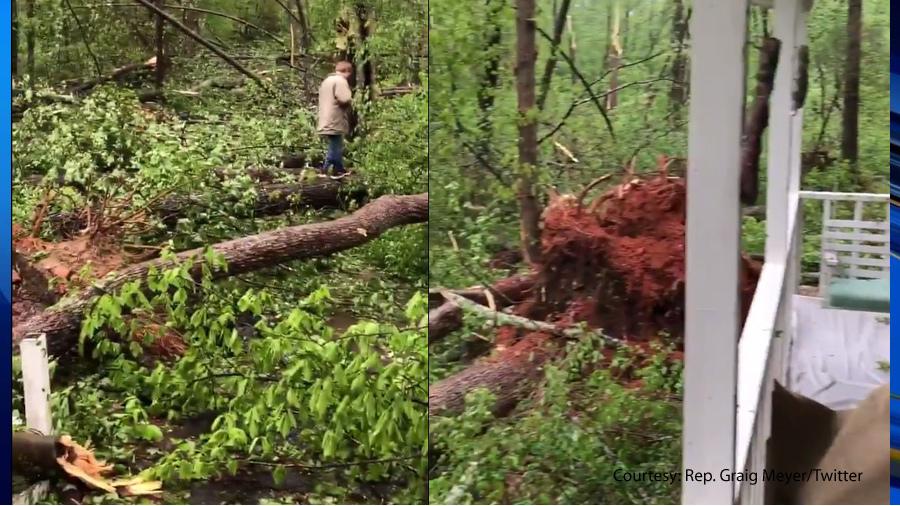 RAW_VIDEO__Tornado_damage_at_NC_State_Re_0_20190419232407