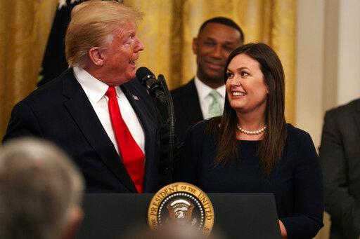 Donald Trump, Sarah Sanders