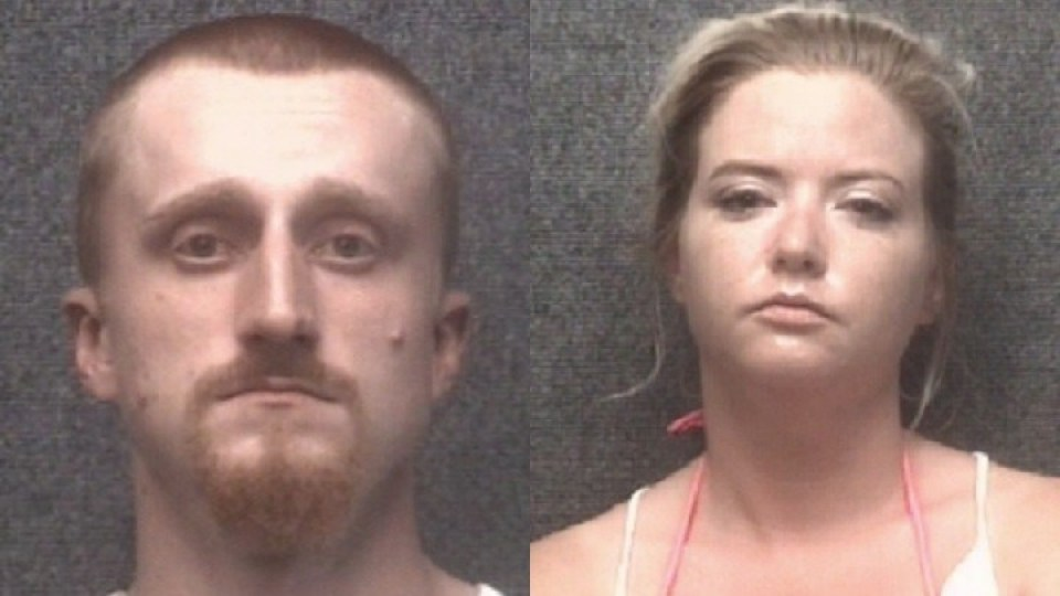 Morgan Erich Allgood (left) and Crystal Martin. (Courtesy of the Myrtle Beach PD via WBTW)