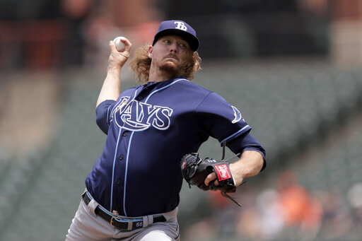 Rays lose bid for combined perfect game on hit in 9th – CBS 17 com