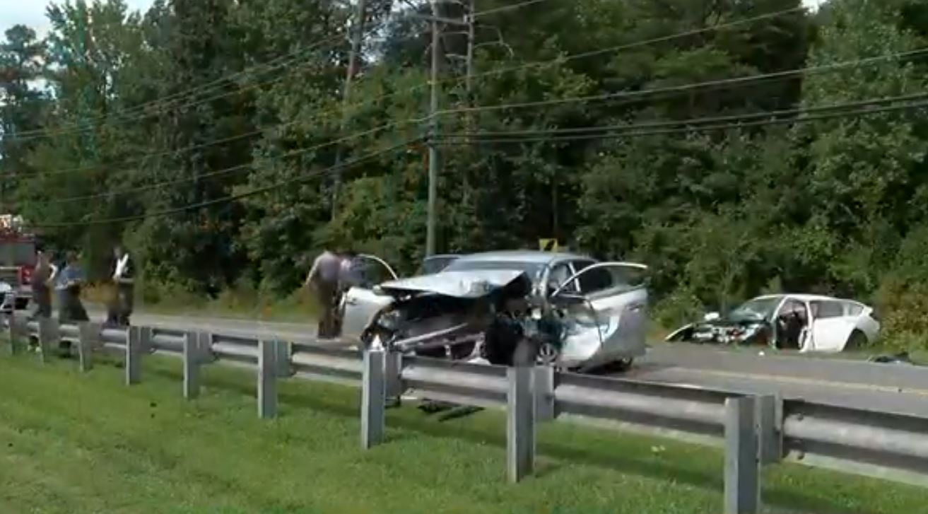 God was with us': NC family of 4 survives violent head-on collision