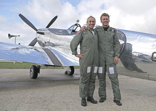 Restored World War II Spitfire begins round-the-world trip