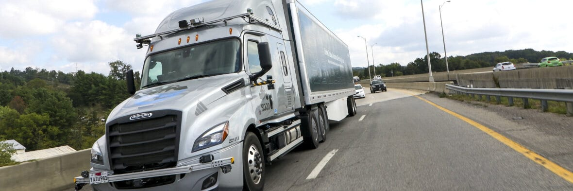Self-driving tractor-trailers to begin testing on Virginia roads