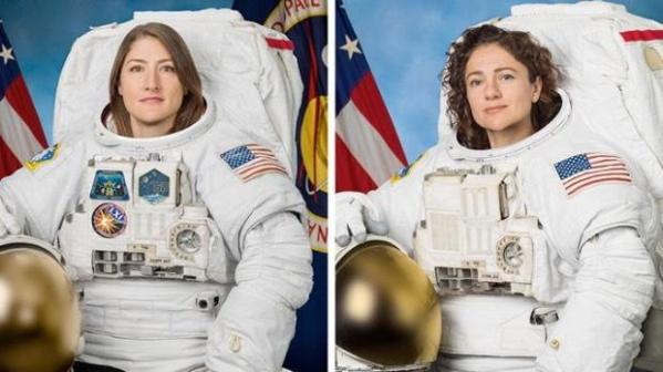 First all-female spacewalk on tap Friday to replace failed battery controller