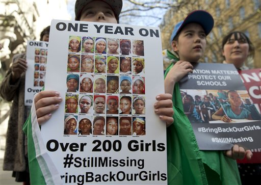 Britain Nigeria Chibok Girls_94831