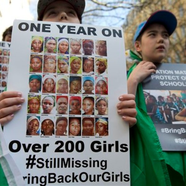 Britain Nigeria Chibok Girls_94831