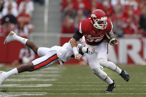 Auburn Arkansas Football_128670