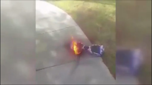 hoverboard flames_137285