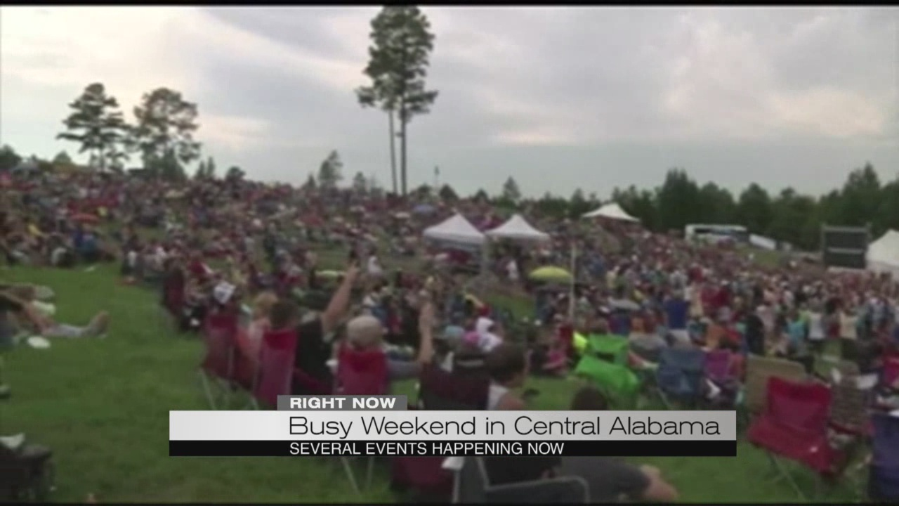 Busy weekend in Central Alabama_189907