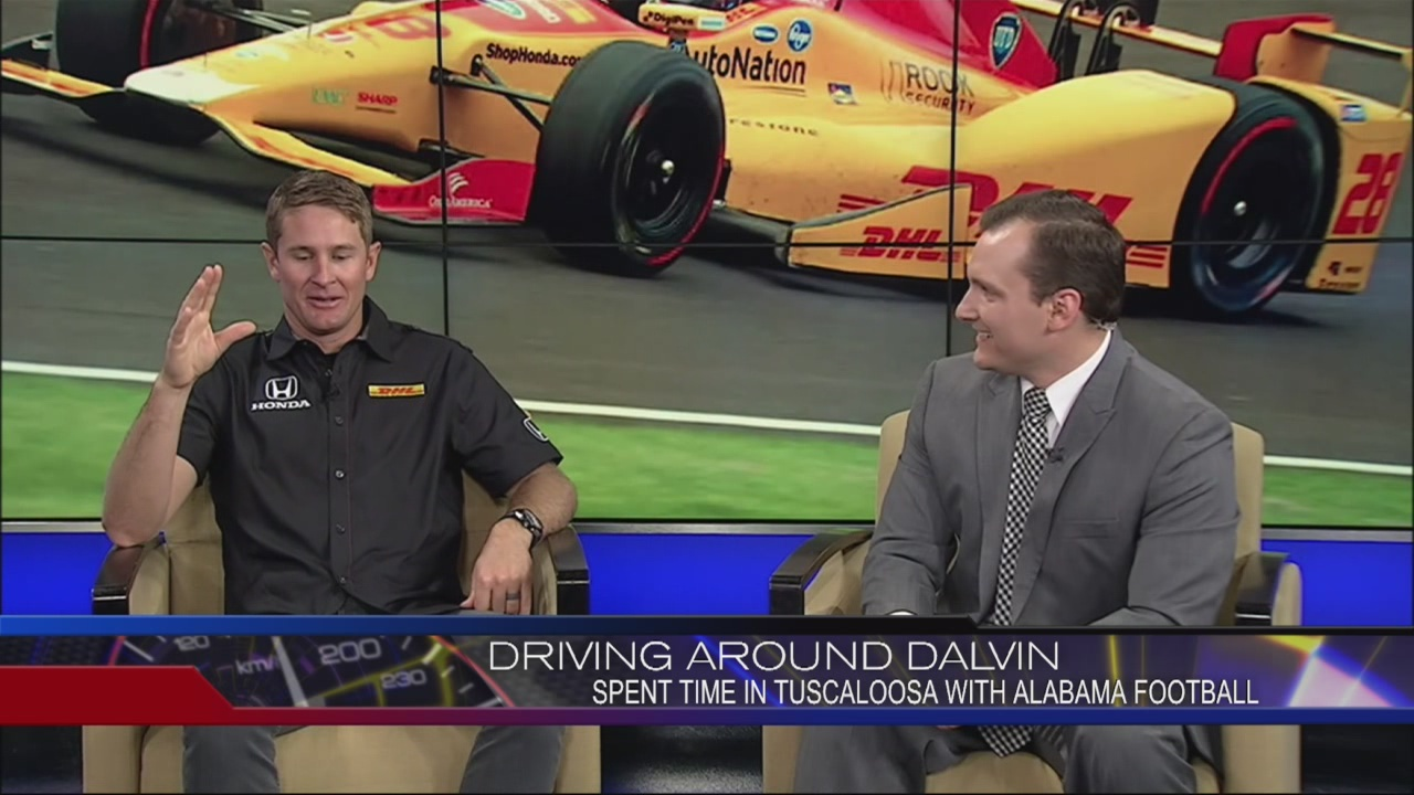 Ryan Hunter Reay live from the studio