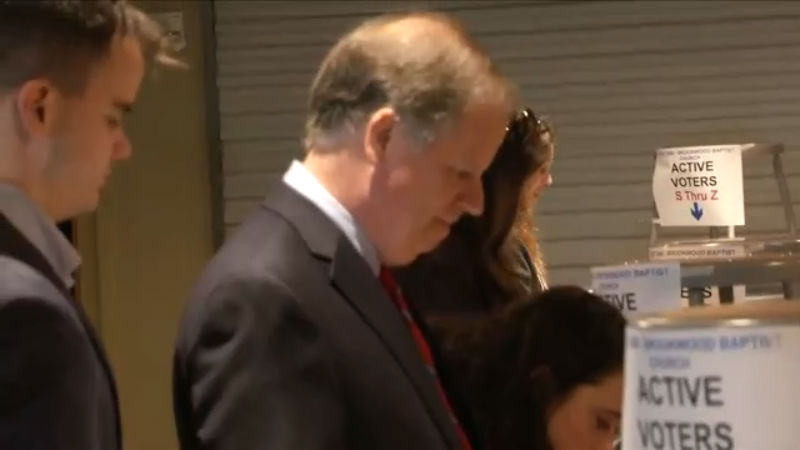 doug jones casts his vote tuesday in the alabama us senate special election_348613