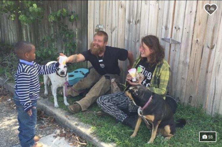 presdient austin feeding the homeless_1526036558587.JPG.jpg