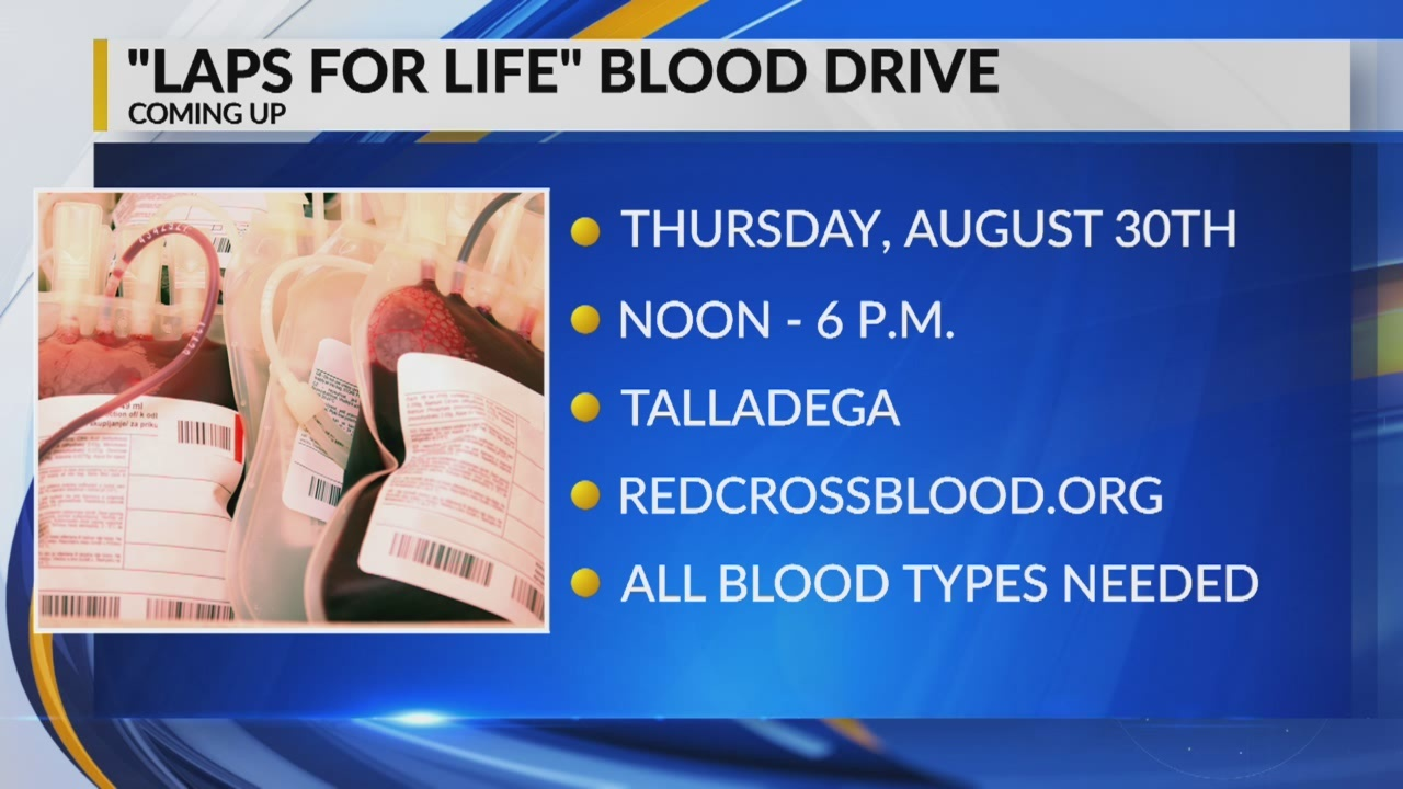 Laps for Life Blood Drive