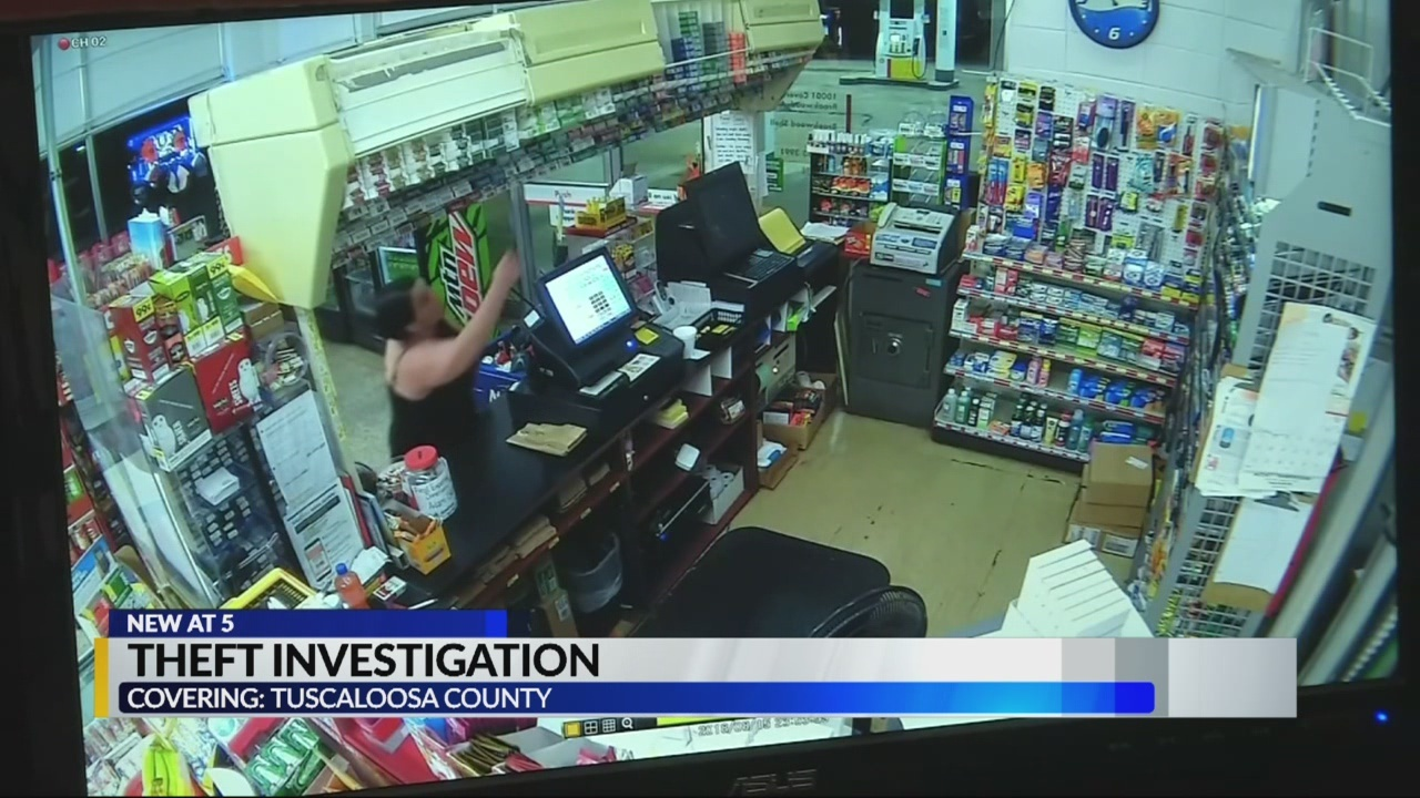 Theft investigation in Brookwood Tuscaloosa county