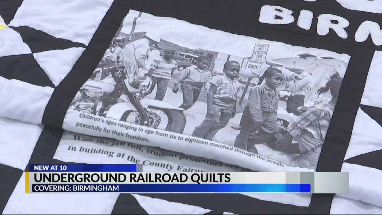 Underground Railroad quilts