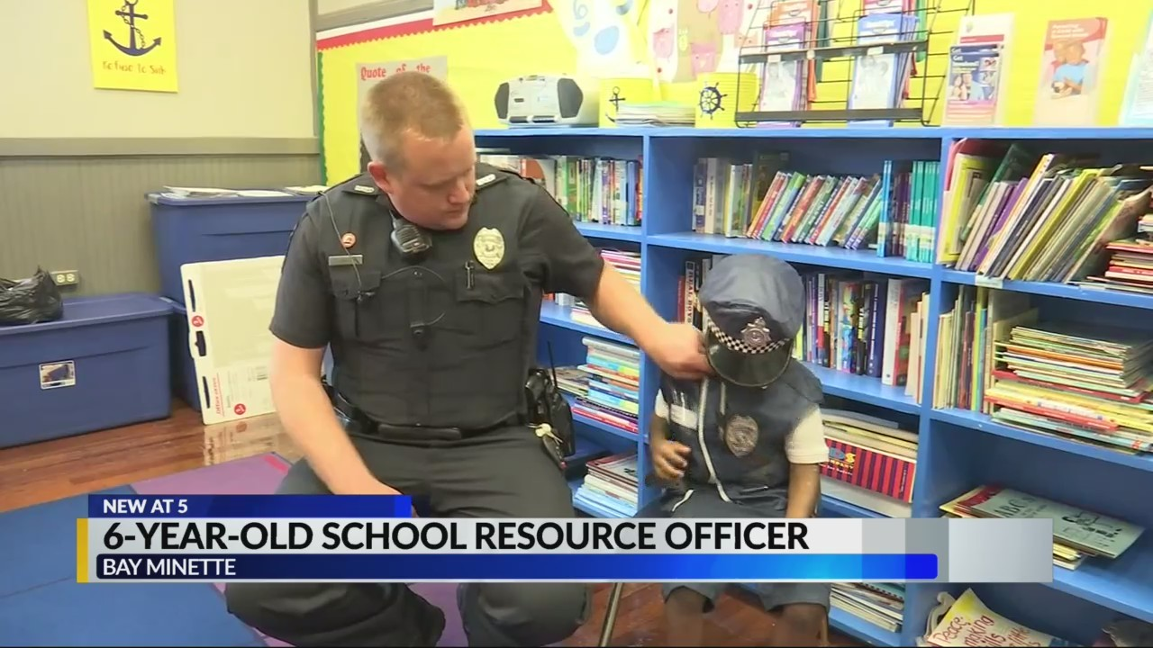 6-year-old school resource officer