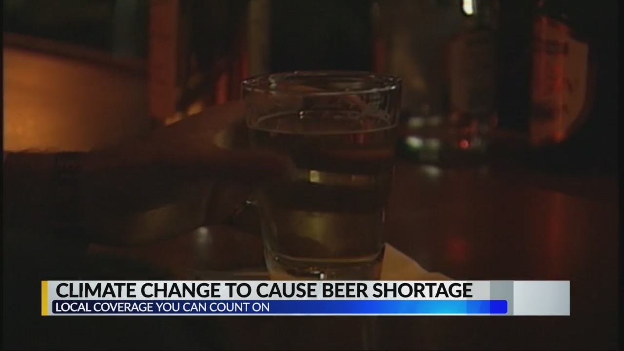 Climate change to cause beer shortage