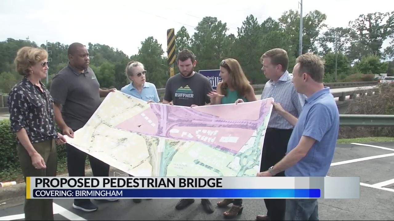 Proposed pedestrian bridge in Mountain Brook